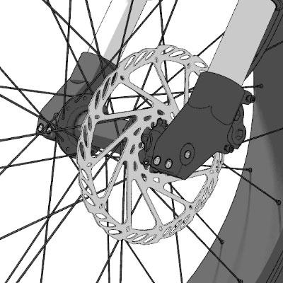 vélo électrique moteur central